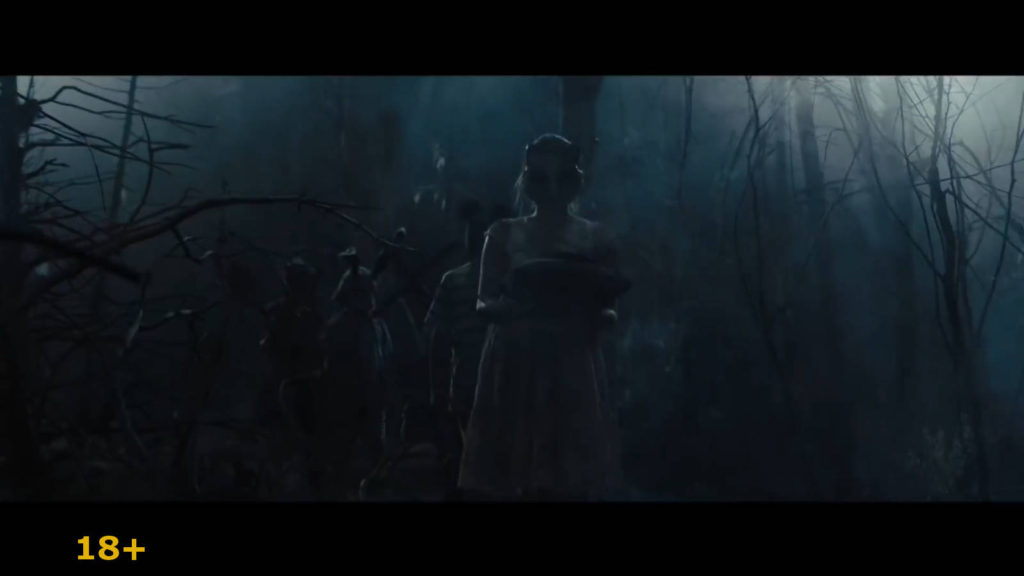 Кадр из фильма кладбище домашних животных.Ритуал