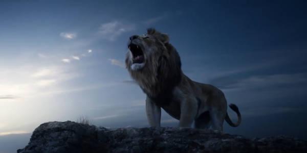 Король лев 2019 кадр из нового фильм