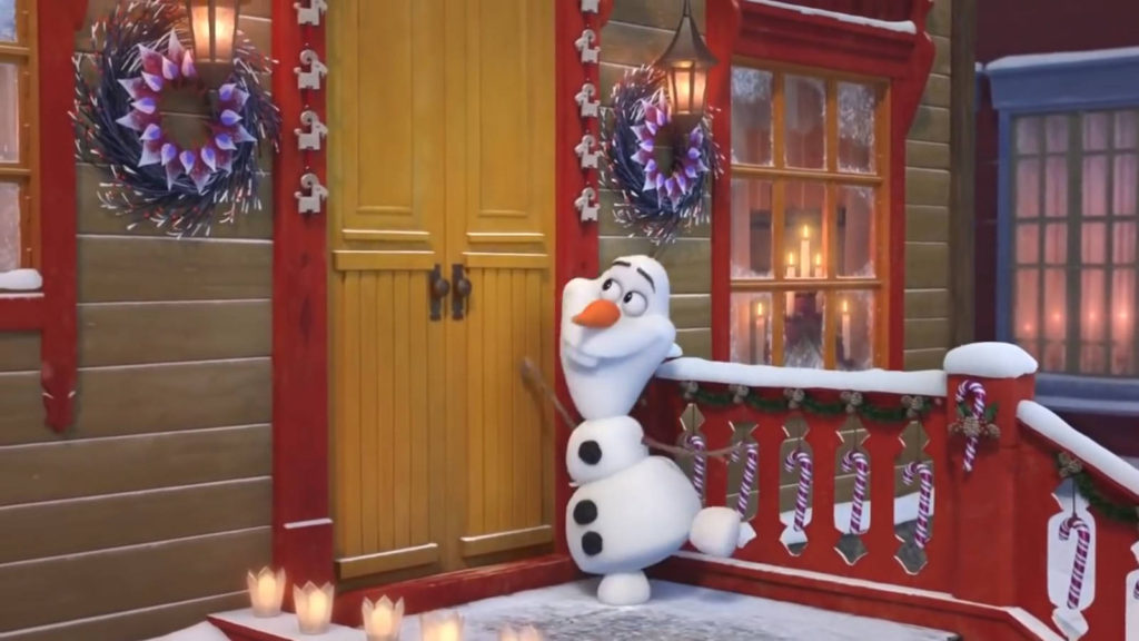 Олаф и Холодное приключение снеговик Олаф