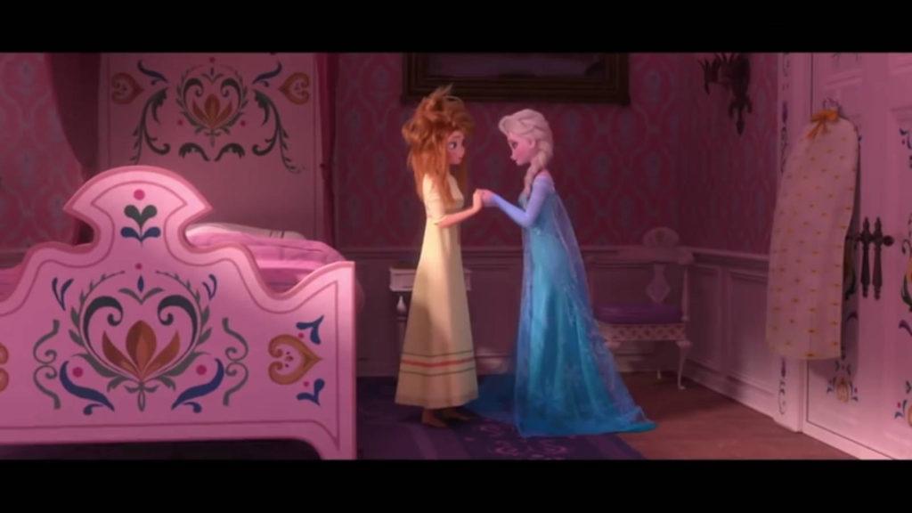 Холодное торжество сестры Анна и Эльза