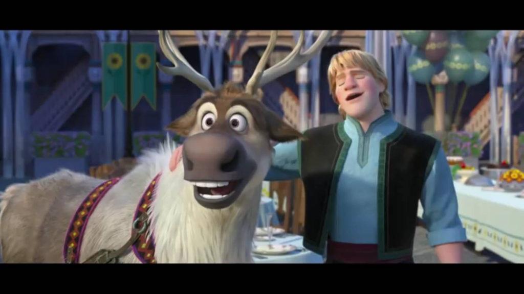 Холодное торжество - Кристоф и олень Свен