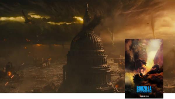 Фильм Годзилла 2: Король монстров 2019 года трейлер