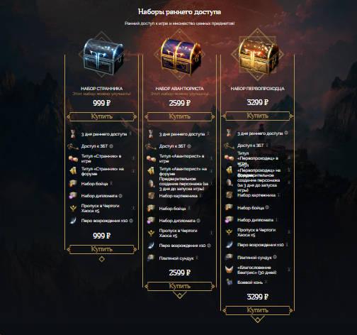 Lost Ark набор раннего доступа на официальном сайте