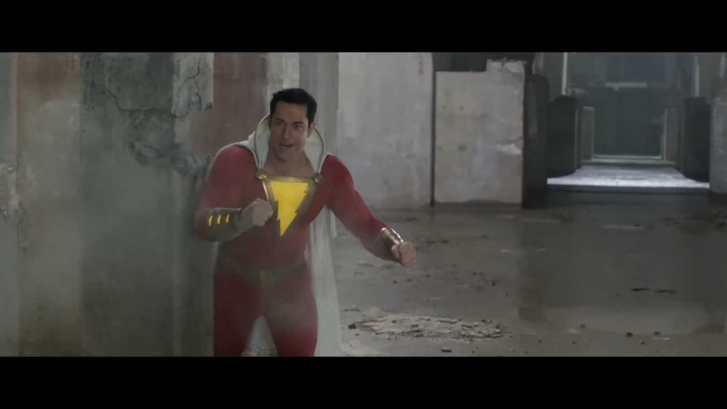 Кадры из Фильма Шазам - супергерой