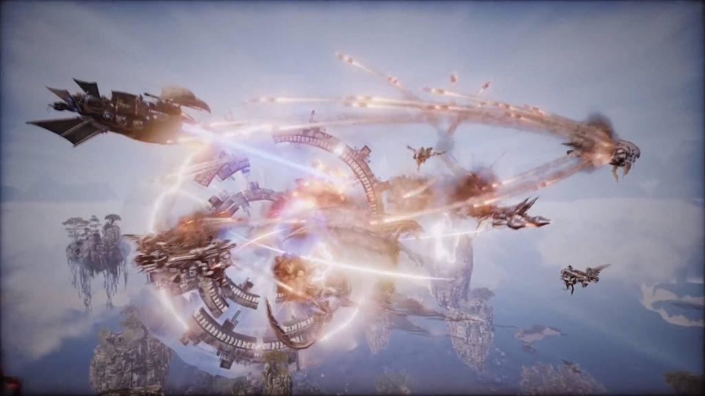 Ascent: Infinite Realm ПВЕ в воздухе