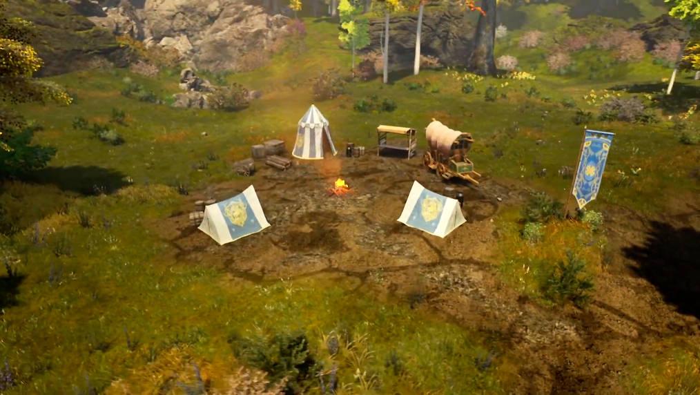 Оплоты цивилизации начальный уровень лагерь