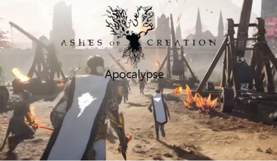 Открытие Сервера Ashes of Creation Apocalypse в России