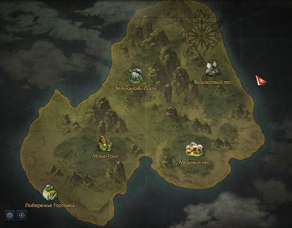 Ostrov Tortoik V Lost Ark Obzor Karta Lokacii Insty Zohe Ru