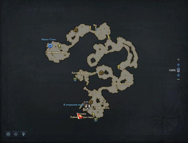 Остров Тортоик в Lost Ark. Обзор, Карта, Локации
