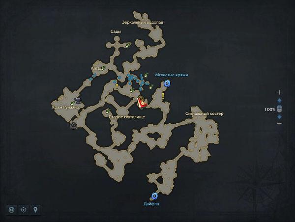 Континент Аньшу в Lost Ark