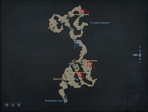 Панорамы и Уникальные противники Тортоик в Lost Ark