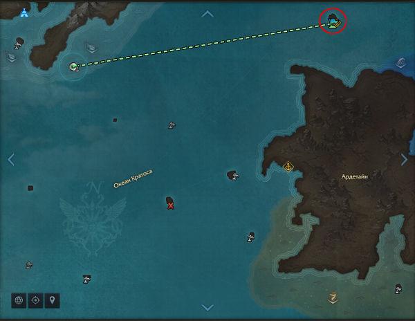 Остров беглецов карта