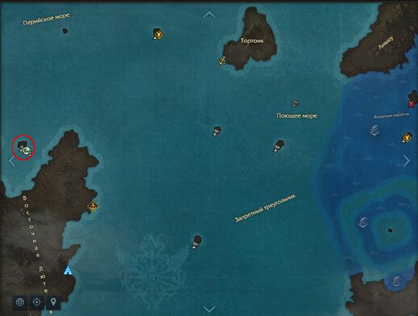 Остров всех влюбленных. Карта