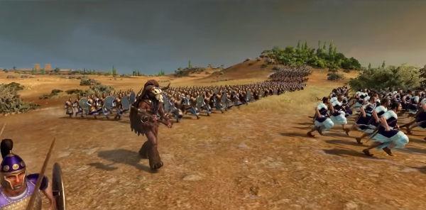 Минотавр Геймплей Total War Saga: Troy