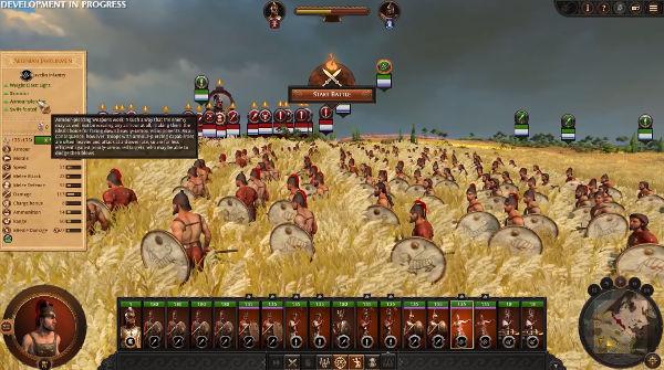 геймплей Total War Saga: Troy, новая местность