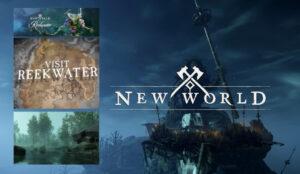 Обновление New World. Новая локация Reekwater , рыбалка