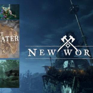 Обновление New World. Локация Reekwater. Рыбалка
