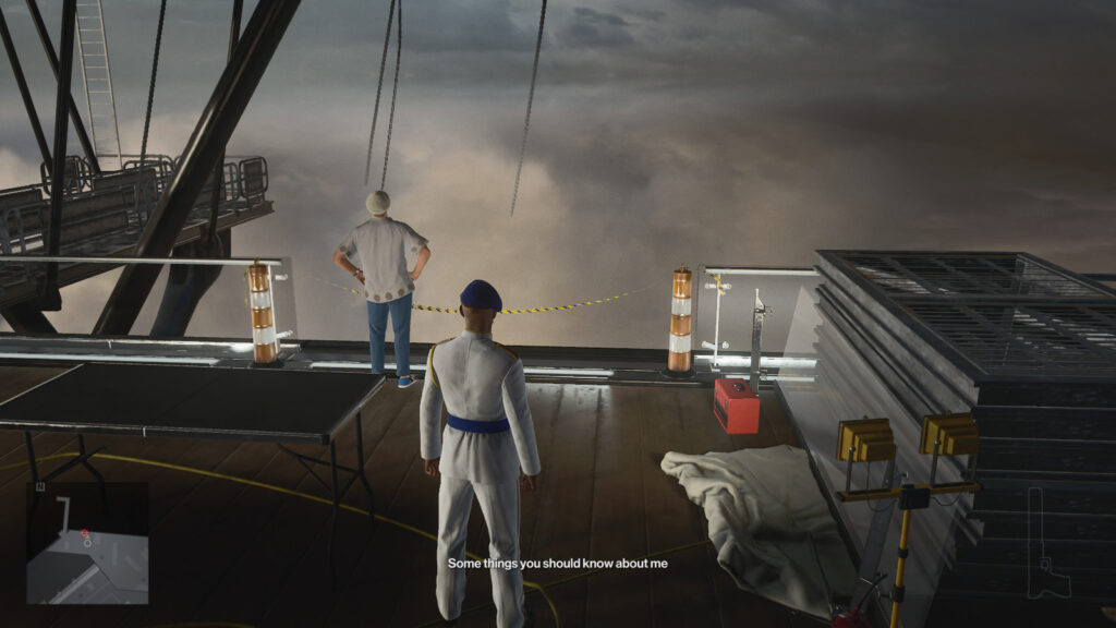 On Top Of The World проходим миссию в Hitman 3