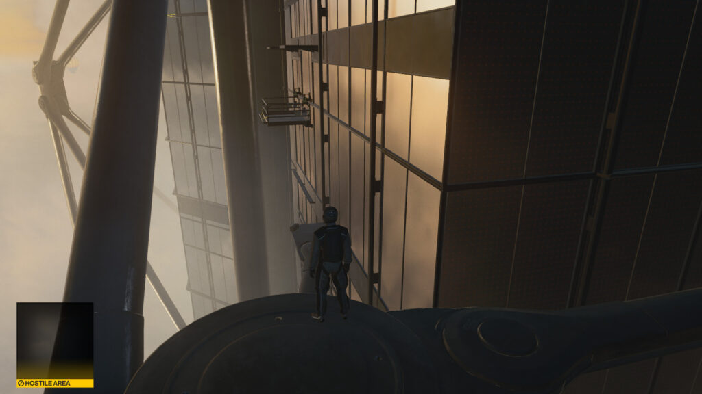 Прохождение миссии Dubai Hitman 3 (On Top Of The World)